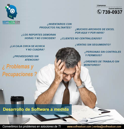 SOFTNEXTCON - Resolviendo Problemas