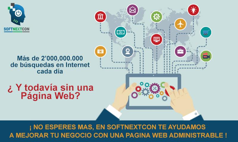 SoftNextCon Promo Pagina Web banner